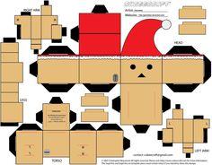 (Part B of Danbo Papercraft) For Part A click here: yuiiwae.deviantart.com/art/Dan… I've been obsessed with Danbo lately.. They're so cute :3 I found a Danbo papercraft pattern, and it's ver...