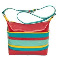 ili 6670 Leather Crossbody Hobo Handbag Review