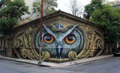 Το αθηναϊκό γκράφιτι που έγινε παγκόσμιο viral - Viral - NEWS247