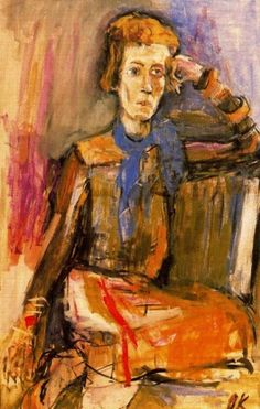 Nancy Cunard by Oskar Kokoschka