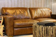 The Classico is all about clean lines and neat presentation. Fully wrapped in high quality antique tan leather, the Classico will add a touch of style to your home.   The seat is foam filled to provide durable luxurious comfort, and back cushions are fibre filled to retain its original soft texture for longer. Expertly tailored with a highly durable hardwood frame and layers of luxury leather.  PLEASE NOTE, this piece is currently only available in TAN leather.