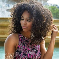 @ukcurlygirl ❤️  #hair2mesmerize #naturalhair #healthyhair