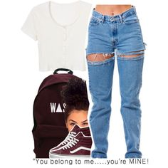 10.29 by trinityannetrinity on Polyvore featuring polyvore, fashion, style, Quinny, Vans and clothing