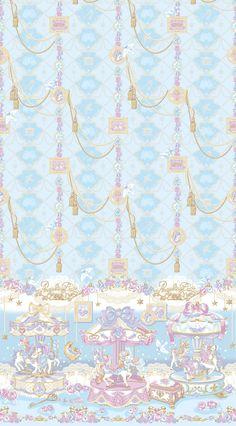 Kawaii Wallpaper, Wallpaper S, Wallpaper Backgrounds, Pretty Phone Backgrounds, Cinderella Art, Carnival Background, Cute Patterns Wallpaper, Wall Paper Phone, Angelic Pretty