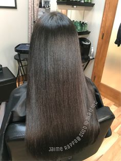 Beautiful hair glazed with Redken shades EQ Balayage Asian Hair, Hair Glaze, Hair Color Experts, Color Correction Hair, Redken Shades, Best Hair Salon, Natural Hair Styles, Long Hair Styles, Natural Hair Journey