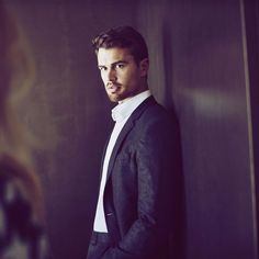 Theo James - Hugo Boss
