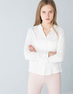 Bershka Costa Rica - Camisa BSK pliegue espalda