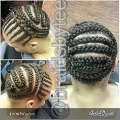 """#TeamCrochetBraids HOW TO: BRAID PATTERN FOR VERSATILITY!   @braidsbytee ""Morning ♡ For versatile CrochetBraids -  meaning they can be styled up or down…"""