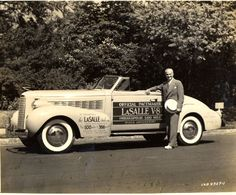 STRANGE OLDE INDY 500 PACE CARS - 1937 LaSALLE CONVERTIBLE