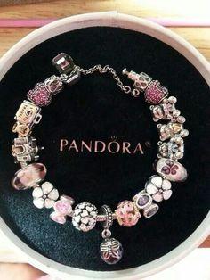 Another pink Pandora bracelet