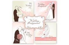 Custom Printable Wedding Invitations by GraphicMarket on Creative Market