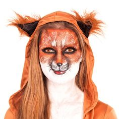 Fuchs schminken – Karneval Make-Up Tutorial