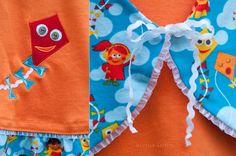 Lillestoff enemenemeins sewing fabric kidswear autumn