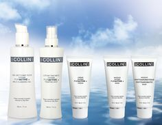 G.M. Collin Normal to Oily Skin Solutions #beauty #cosmetics #skincare #oilyskin #OxygenPuractive #cleansing #cleanser #OxygenPuractiveMildCleansingGel #mist #TreatingMist #OxygenPuractivTreatingMist #cream #OxygenPuractiveCream #mask #FaceMask #PurifyingMask #OxygenPuractiveMask #Phytoaromatic #PhytoaromaticMask #gmcollin #gmcollinparis #gmcollinskincare