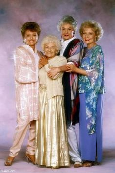 The Golden Girls cast (September 13, 1985, to May 9, 1992) Starring Rue McClanahan as Blanche Devereaux, Estelle Getty as Sophia Petrillo, Bea Arthur as Dorothy Zbornak, and Betty White as Rose Nylund