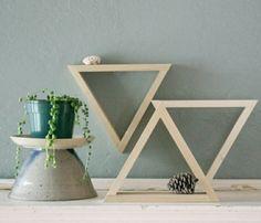 Set of 3 Decorative Triangles