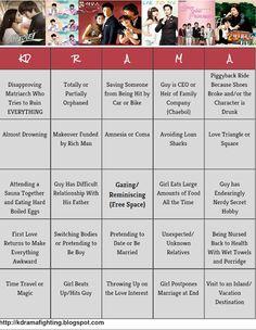 Kdrama Bingo! So True!    #kdramahumor #kdramafighting