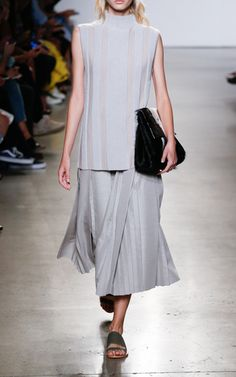 Pleated Skirt by SALLY LAPOINTE for Preorder on Moda Operandi