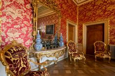 The apartments of Elisabeth of Austria in Venice, Italy