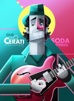 Showcase and discover creative work on the world's leading online platform for creative industries. Illustration Sketches, Illustrations And Posters, Character Illustration, Digital Illustration, Graphic Illustration, Arte Bar, Arte Pink Floyd, Soda Stereo, Web Design