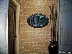 Harry Potter Script Wall