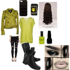Five Nights at Freddy's 3 Springtrap inspired outfit by caseyrobinson99 on Polyvore featuring art
