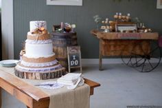Rustic Wedding Cakes Wedding Cakes Photos on WeddingWire