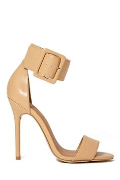 Shoe Cult Astaire Sandal - Nude at Nasty Gal