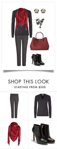 """#106"" by cindrof on Polyvore featuring Mode, Joseph, Brunello Cucinelli, Ole Lynggaard und Salvatore Ferragamo"