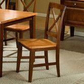 Found it at Wayfair - Camden Crossback Side Chair  $156.38 for 2
