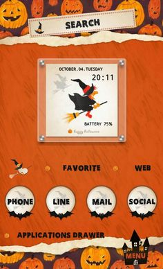 [Homepack Buzz] Check out this awesome home screen! tokko [Halloween][home screen] [ハロウィン][ホームパックバズ]
