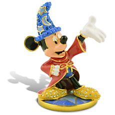 Limited Edition Sorcerer Mickey Mouse Jeweled Figurine by Arribas $175