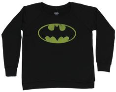 Batman Girls Juniors Pull Over Light Sweatshirt - Classic Distressed Bat Symbol * This is an Amazon Affiliate link. Visit the image link more details.