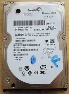 Seagate ST9250827AS 120GB SATA 2.5  HDD Hard Disk Drive