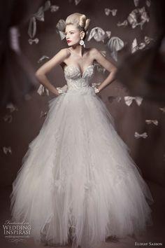 Elihav Sasson Couture Wedding Gown from Wedding Inspirasi Collection - http://casualweddingdresses.net/couture-wedding-gowns-haute-couture-for-the-revolutionary-bride/