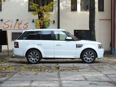 #Car Land Rover #White #Riga