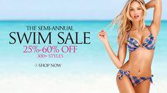 The Semi-Annual Swim Sale, 25%-60% OffOver 300Styles