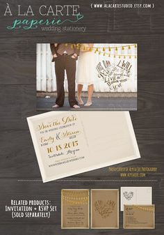 This day I will marry my best friend Rustic Tan by alacartestudio, $15.00