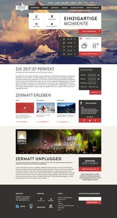 Landingpage by Jonas Hermann  Website design layout. Inspirational UX/UI design sample.  Visit us at: www.sodapopmedia.com #WebDesign #UX #UI #WebPageLayout #DigitalDesign #Web #Website #Design #Layout
