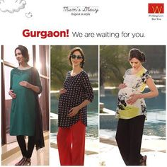 #ExpectInStyle with W  Visit and shop our maternity range and get exclusive hamper from us now !