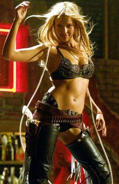 Jessica Alba...Sin City...Wouldn't quite sport this look but i love tha she can...