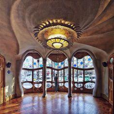 Casa Batlló   Antoni Gaudí   1906   Barcelona