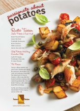 Rustic Tuscan Idaho® Potato and Crab Hash #PatrickMcElroy