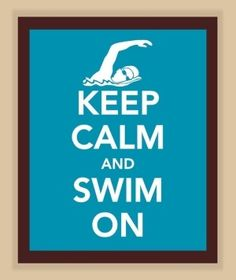 I joined swim team and loved it!!