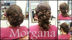 Prueba de Peinado Novia Morgana