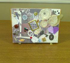 Decorated cigar box ...treasure box