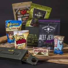Premium Jerky Ammo Can  Almost two pounds of beef jerky in a handy ammo case - the perfect gift for men.  Premium beef jerky from the best suppliers in the US.