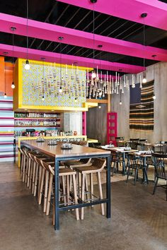 Exotic jungle room crowns the cross-cultural eclecticism at Ray Garcia's BS Taqueria...