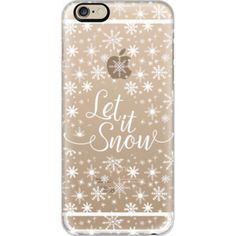 iPhone 6 Plus/6/5/5s/5c Case - Let it snow
