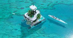 Kokomo Ailand: las islas flotantes que se fabrican por encargo